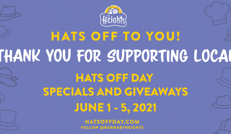 Hats Off Day 2021 Specials