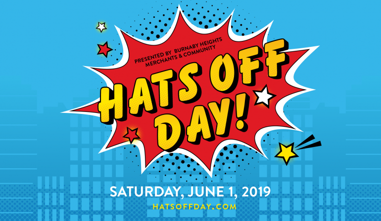It's a bird, it's a plane, it's Hats Off Day